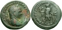 Ancient Coins - Caracalla, 198 - 217 AD, AE As, Mars