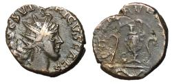 Ancient Coins - Barbarous Radiates, Imitating Tetricus II, 3rd Century AD