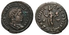 Ancient Coins - Constantine I, 307 - 337 AD, Follis of Lugdunum, Sol