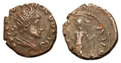 Ancient Coins - Barbarous Radiates, Imitating Tetricus II, Late 3rd Century AD