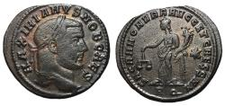 Ancient Coins - Galerius, as Caesar, 293 - 305 AD, Follis of Rome