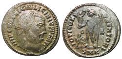 Ancient Coins - Licinius I, 308 - 324 AD, Follis of Cyzicus, Jupiter