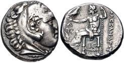 Ancient Coins - Kingdom of Macedonia, Kassander, 317 - 305 BC, Silver Tetradrachm, Amphipolis Mint