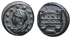 Ancient Coins - Comemmorative Issue, 330 AD, Follis with the Milvian Bridge