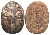 Ancient Coins - Egypt, New Kingdom, 1,069 - 945 BC, Scarab