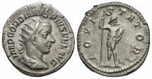 Ancient Coins - Gordian III, 238 - 244 AD, Silver Antoninianus, Jupiter