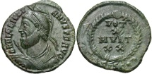 Ancient Coins - Julian II, 360 - 363 AD, AE20, Siscia Mint