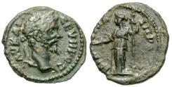Ancient Coins - Septimius Severus, 193 - 211 AD, AE26, Nicopolis, Hera