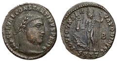 Ancient Coins - Constantine I, 307 - 337 AD, Follis of Heraclea, Jupiter