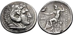 Ancient Coins - Kings of Macedonia, Alexander to Kassander, 325 - 310 BC, Silver Tetradrachm, Very Rare