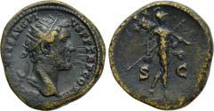 Ancient Coins - Antoninus Pius, 138 - 161 AD, Dupondius, Mars
