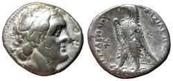 Ancient Coins - Ptolemaic Kings of Egypt, Ptolemy II, 285 - 246 BC, Silver Tetradrachm