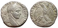 Ancient Coins - Elagabalus, 218 - 222 AD, Billon Tetradrachm of Antioch