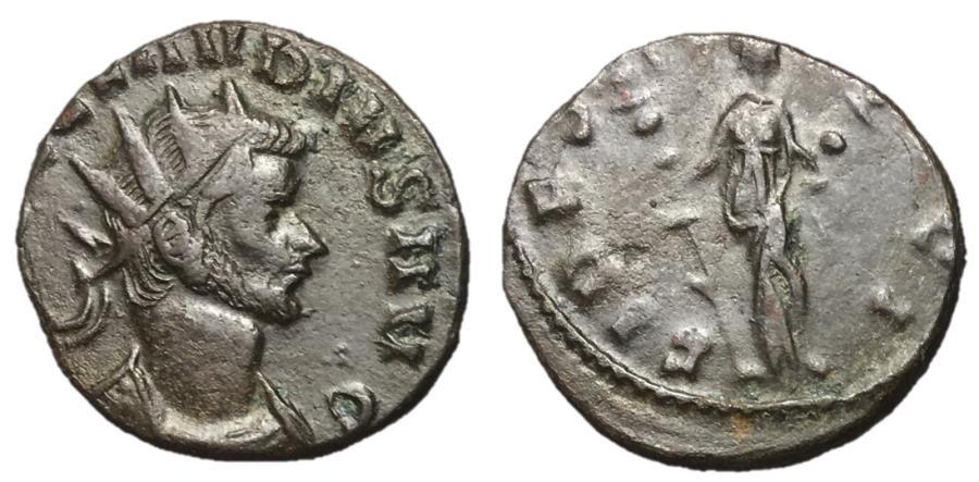 Ancient Coins - Claudius II, 268 - 270 AD, Antoninianus, Fides
