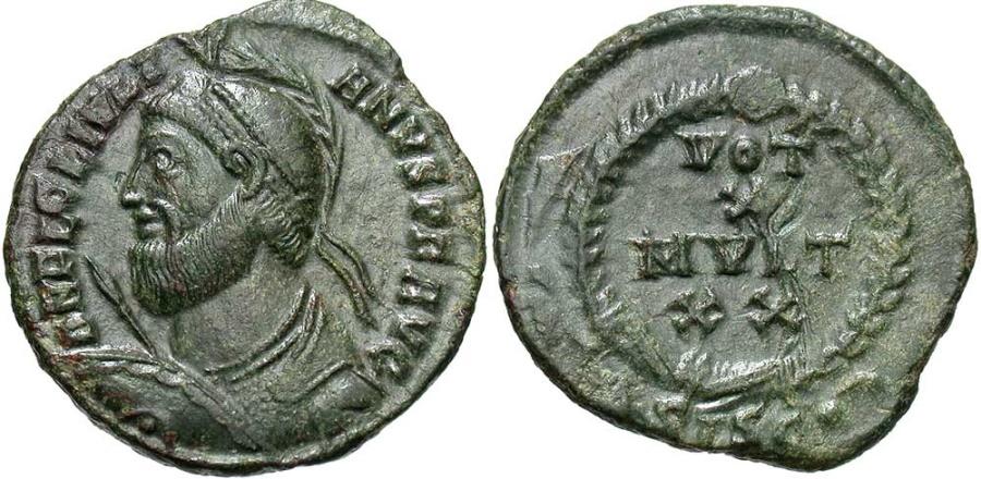 Ancient Coins - Julian II, 360 - 363 AD, AE20, Siscia Mint