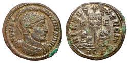 Ancient Coins - Constantine I, 307 - 337 AD, Follis of Aquileia, Bound Captives