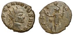 Ancient Coins - Claudius II, 268 - 270 AD, Antoninianus of Rome, Virtus