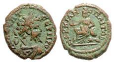 Ancient Coins - Septimius Severus, 193 - 211 AD, AE20, Marcianopolis