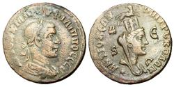 Ancient Coins - Philip II, 247 - 249 AD, AE29, Antioch Mint