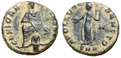 Ancient Coins - Antioch Civic Coinage Persecution Issue, 310 - 313 AD, Pagan Follis