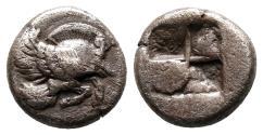 Ancient Coins - Ionia, Klazomenai, 480 - 400 BC, Silver Diobol, When Pigs Fly!