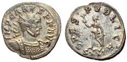 Ancient Coins - Carus, 282 - 283 AD, Antoninianus of Ticinum, Spes