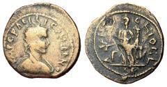 Ancient Coins - Gallienus, 253 - 268 AD, AE24, Antioch Mint