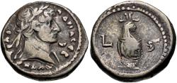 Ancient Coins - Hadrian, 117 - 138 AD, Billon Tetradrachm of Alexandria, Canopus of Osiris