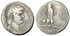 Ancient Coins - Nero, 54 - 68 AD, Silver Tetradrachm of Antioch