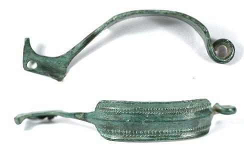 Ancient Coins - Roman Aucissa Brooch or Fibula, 1st Century AD