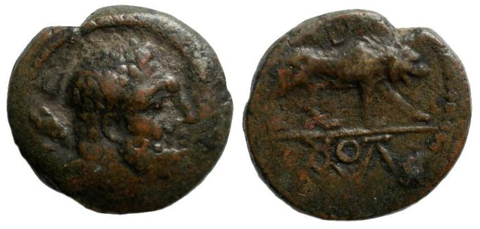 Ancient Coins - Kings of Galatia, Amyntas, 37 - 25 BC