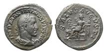 Ancient Coins - Maximinus I, 235 - 238 AD, Silver Denarius, Salus