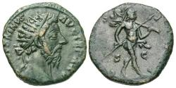 Ancient Coins - Marcus Aurelius, 161 - 180 AD, AE Dupondius, Mars