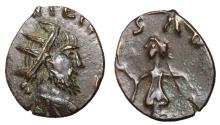 Ancient Coins - Barbarous Radiates, Imitating Tetricus I, 3rd Century AD