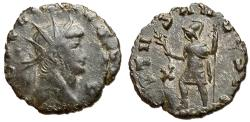 Ancient Coins - Gallienus, 253 - 268 AD, Antoninianus of Rome, Mars
