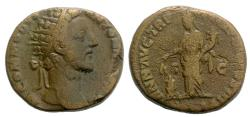 Ancient Coins - Commodus, 177 - 192 AD, Dupondius, Annona