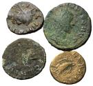 Ancient Coins - Claudius II, 268 - 270 AD, Lot of Four Antoninianii