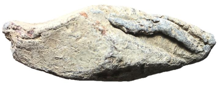 Ancient Coins - Roman Lead Sling Bullet, 1st Century BC - 1st Century AD, From Battlesite of Munde?