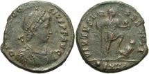 Ancient Coins - Theodosius I, 379 - 395 AD, AE Maiorina, Heraclea