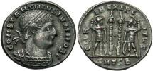 Constantine II, as Caesar, 317 - 337 AD, AE17, Thessalonika