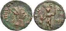 Ancient Coins - Claudius II Gothicus, 268 - 270 AD, Antoninianus of Rome, Jupiter