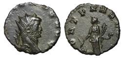 Ancient Coins - Gallienus, 253 - 268 AD, Antoninianus, Fortuna