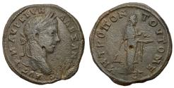 Ancient Coins - Severus Alexander, 222 - 235 AD, Tetrassarion of Tomis