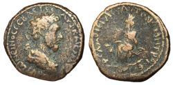 Ancient Coins - Marcus Aurelius, 161 - 180 AD, AE23, Samosata Mint, Unpublished
