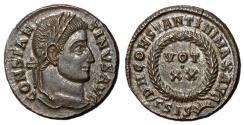 Ancient Coins - Constantine I, 307 - 337 AD, Follis of Siscia