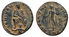 Ancient Coins - Antioch Civic Coinage Persecution Issue, 310 - 313 AD, Pagan Follis, aEF