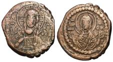 Ancient Coins - Romanus IV, 1068 - 1071 AD, Class G Follis