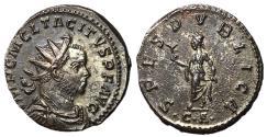 Ancient Coins - Tacitus, 275 - 276 AD, Antoninianus of Lugdunum,Rare and EF
