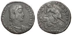 Ancient Coins - Constantius Gallus, as Caesar, Follis of Antioch, Rare