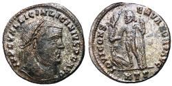 Ancient Coins - Licinius I, 308 - 324 AD, Follis of Heraclea, Jupiter, Rare
